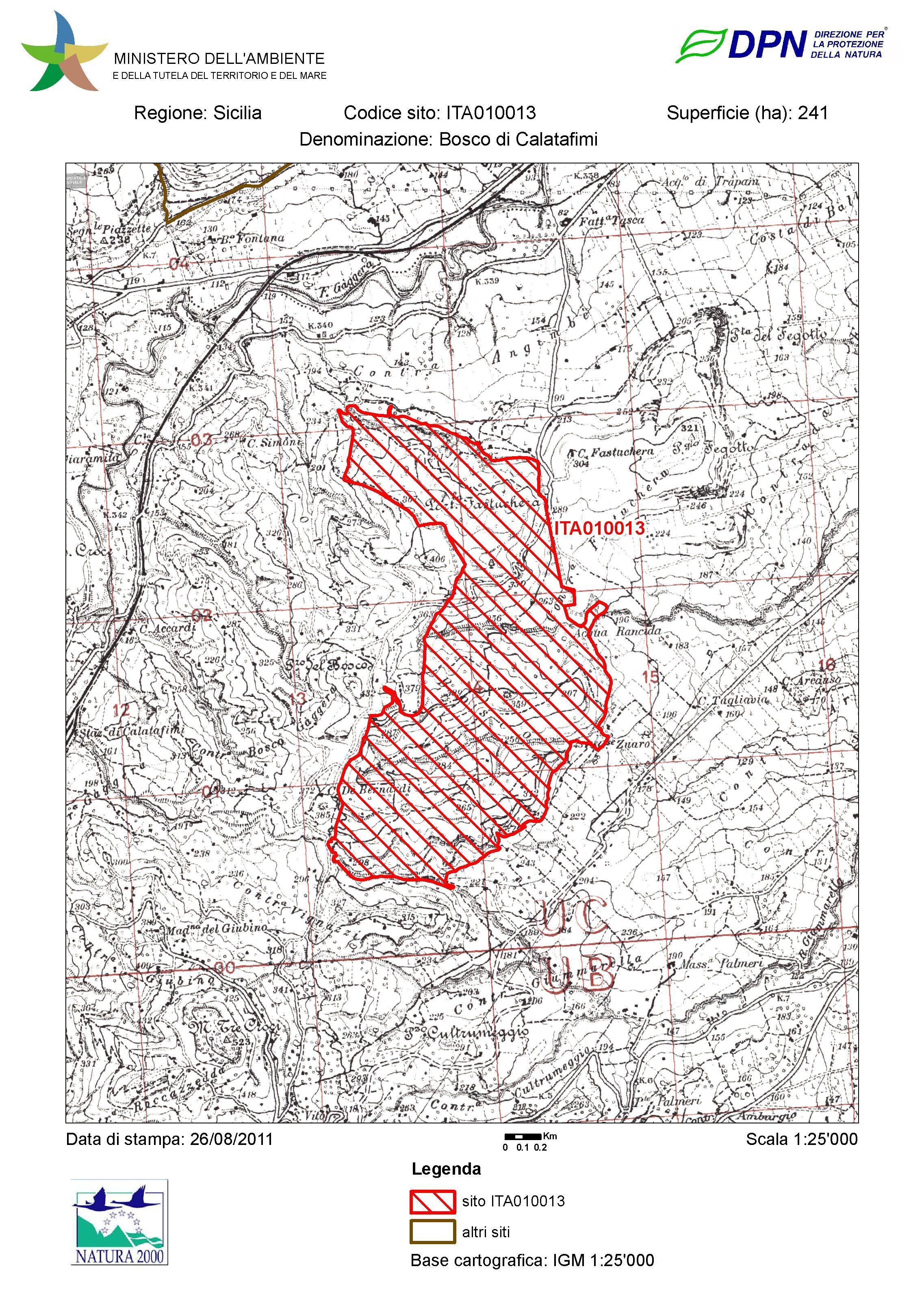 Cartina Sicilia Pdf.I Siti Di Interesse Comunitario In Sicilia Wwf Sicilia Nord Occidentale Odv
